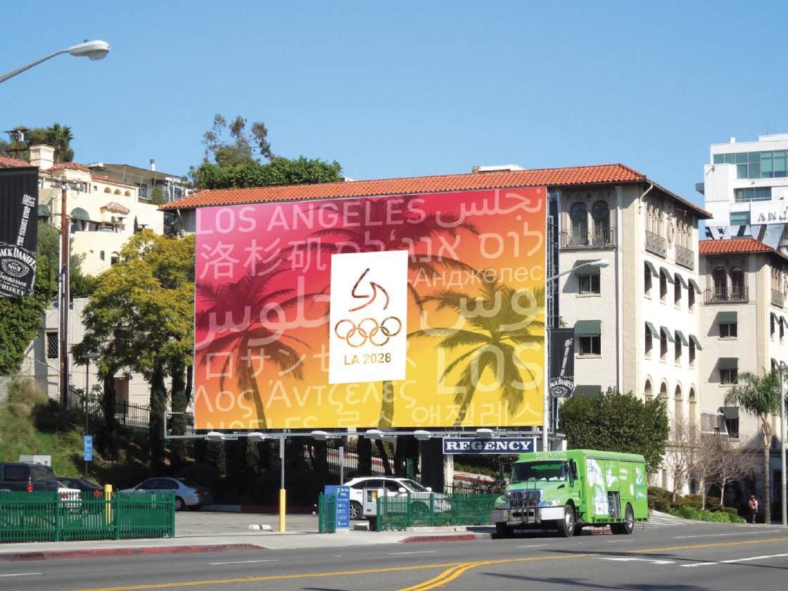 LA 2028 Olympics Brand Identity